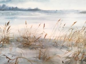 Watercolor painting by Siiri Tall